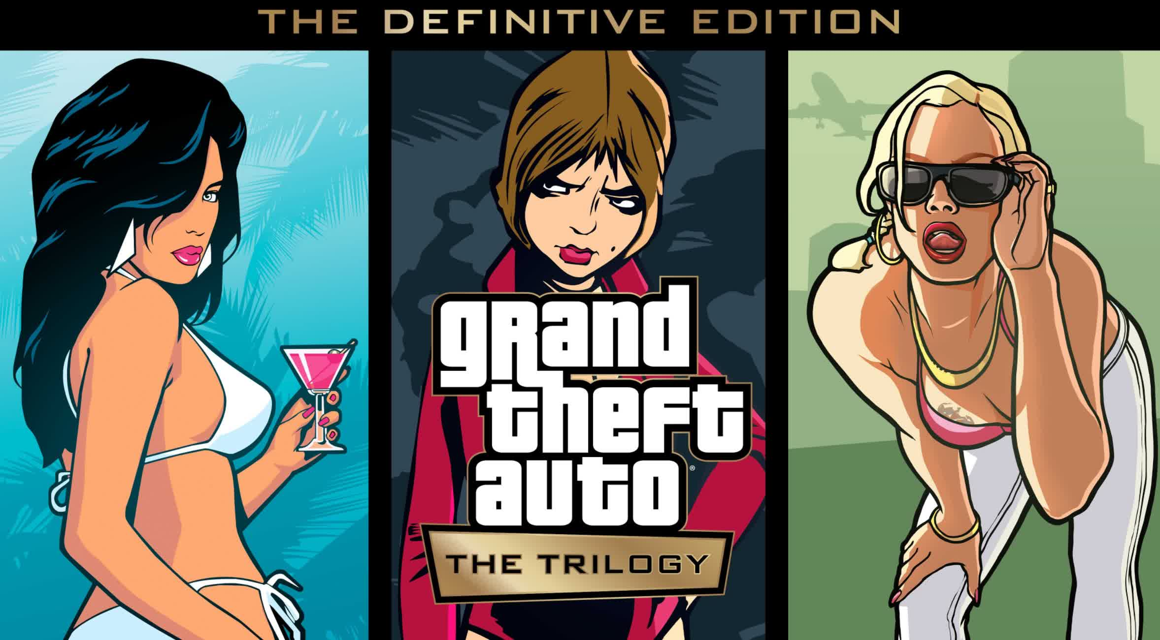 Three classic Grand Theft Auto games are being remastered for PC and consoles