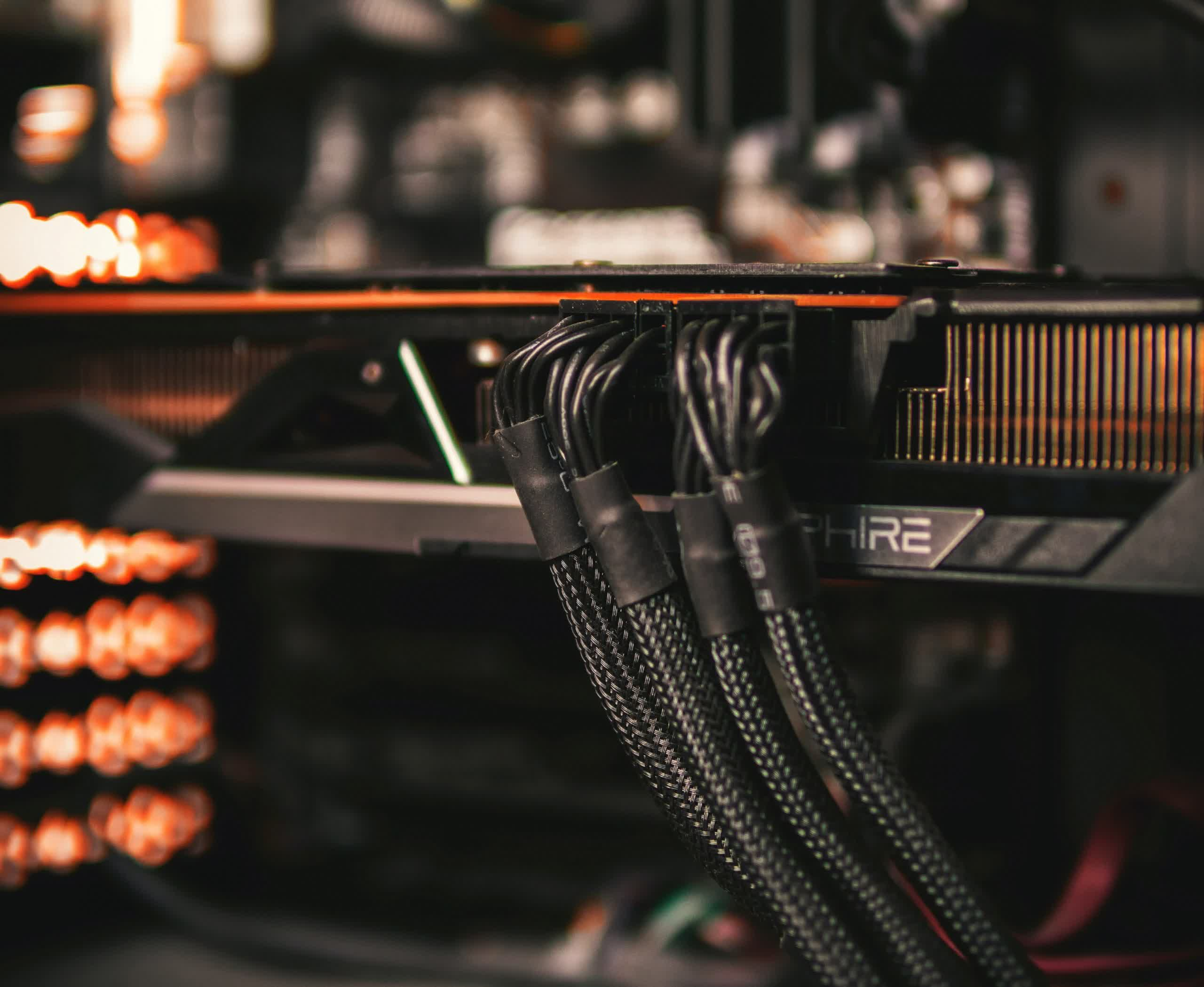 Next-gen power connector for GPUs can handle up to 600W