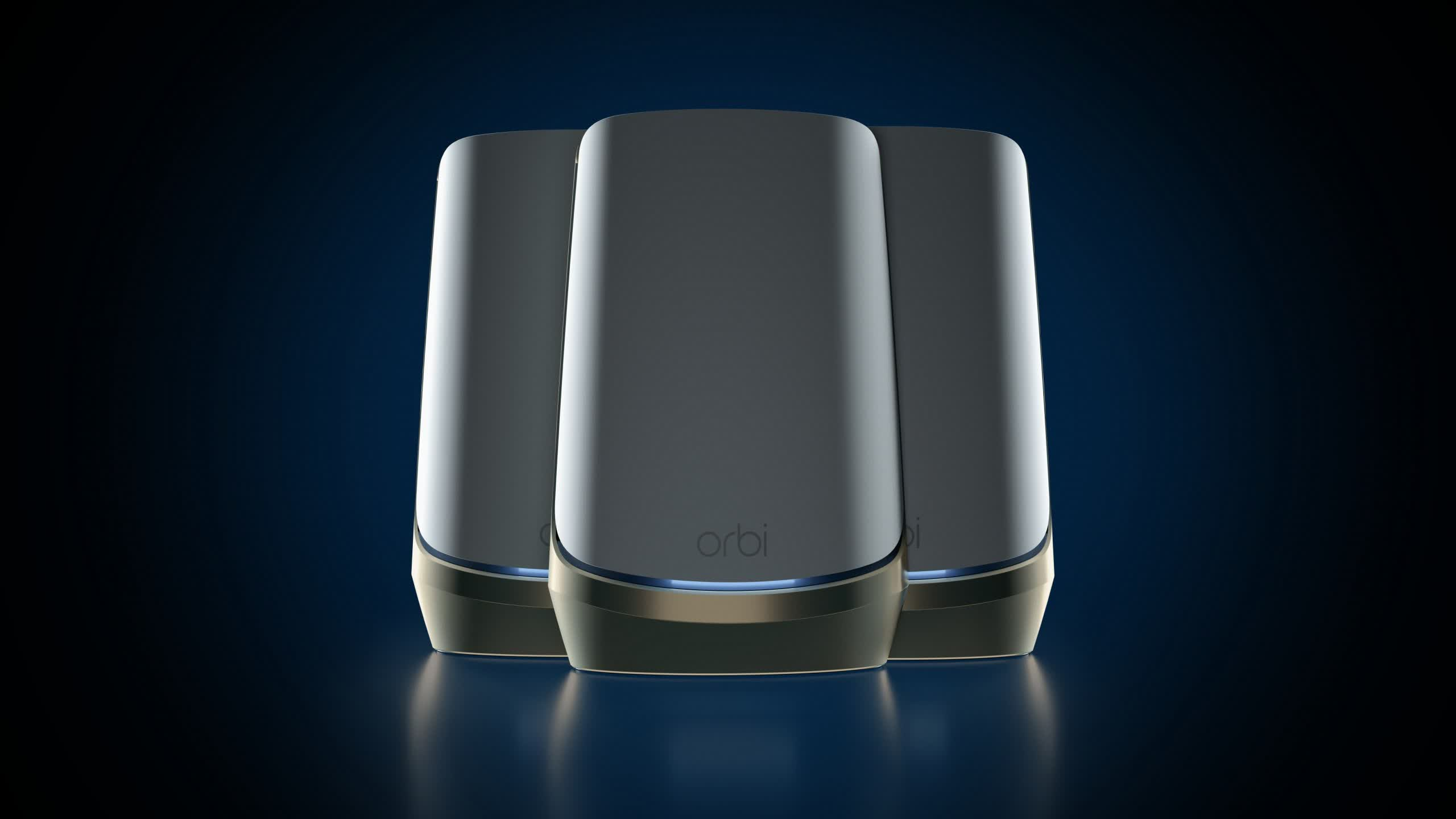 Netgear introduces quad-band WiFi 6E mesh router system