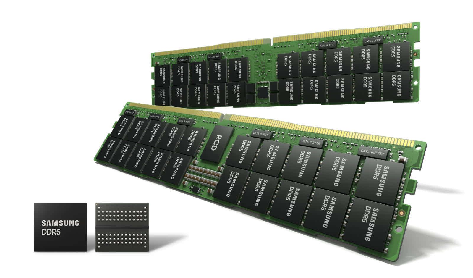 Samsung begins production of 14nm EUV DDR5 DRAM, unlocks speeds of up to 7.2 Gbps
