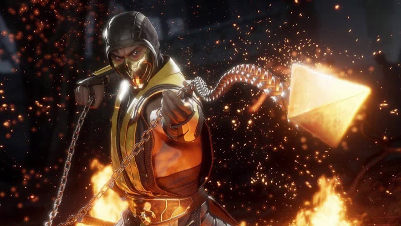 Watch a behind-the-scenes look at the birth of Mortal Kombat's Get over here move
