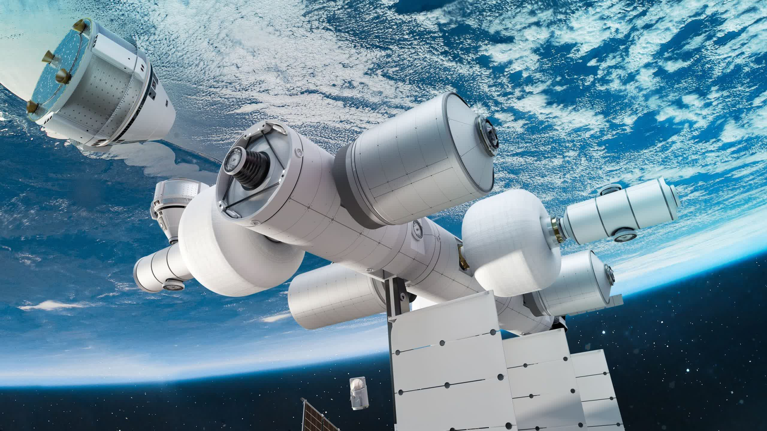 Blue Origin announces Orbital Reef, a commercial space station set to open this decade thumbnail