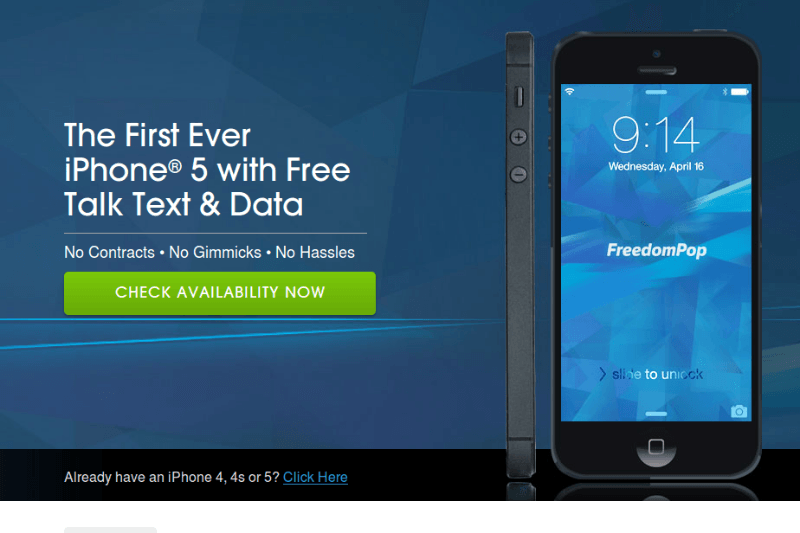FreedomPop now offering iPhone 4/5 with its free and low