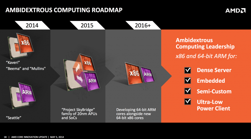 ARM-based 'Amur' chip from AMD reportedly slated for late