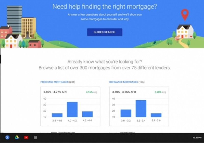 compare mortgages