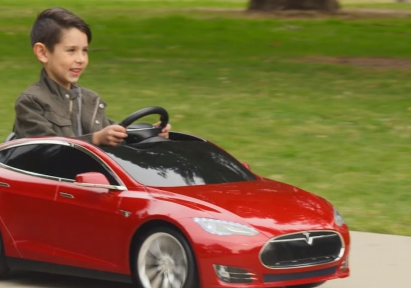 This Tesla Model S For Kids Is The Power Wheels You Always Wanted