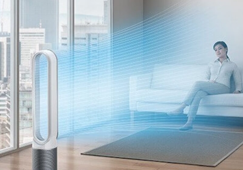 Dyson S Latest Air Purifier Monitors Air Quality Sends