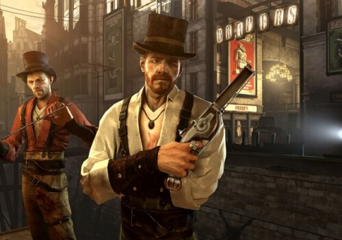 Dishonored voice cast is star studded, and the studs are