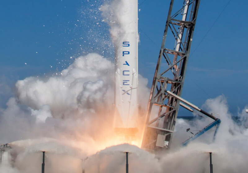 Space tourism industry: SpaceX