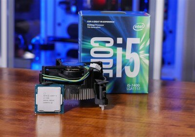 Intel Core i3-7350K vs. Core i5-7400