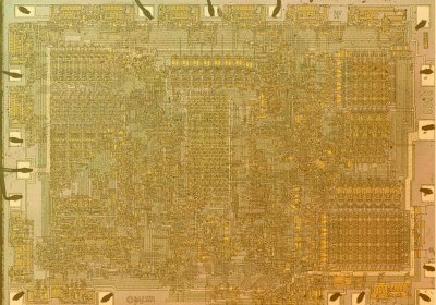 45 Years Later: Die photos and analysis of the revolutionary 8008 microprocessor