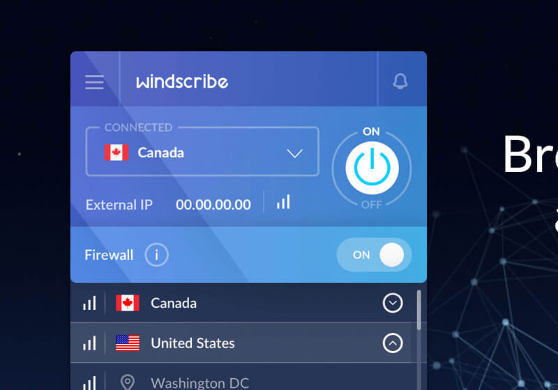 Get a lifetime of Windscribe VPN at a discount and reclaim your