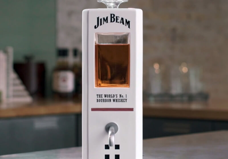 Jim Beam S Smart Decanter Can Pour You A Shot Using Voice