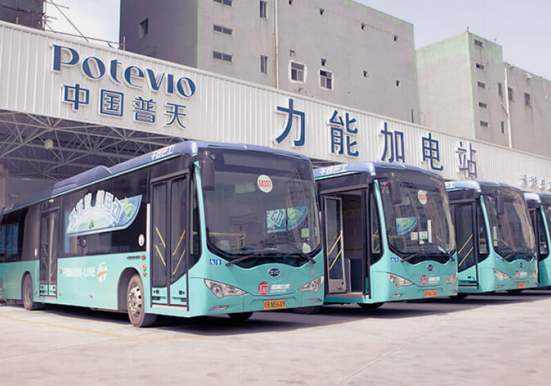 Every Public Bus In China S Shenzhen Is Now Powered By
