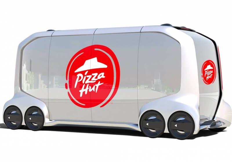 pizza hut claims autonomous delivery vehicles will create