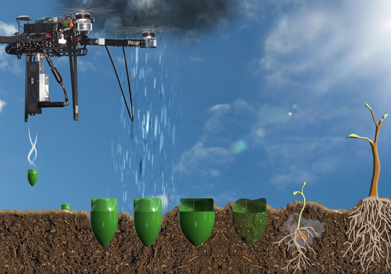 New tree-planting drones can plant 100,000 trees in a single day
