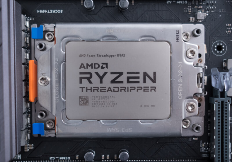 Second generation Threadripper CPUs spotted along with ...