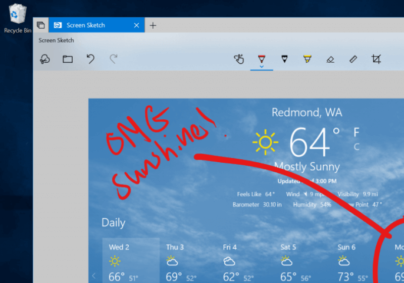 Windows 10 will make screenshots easier with new snipping tool