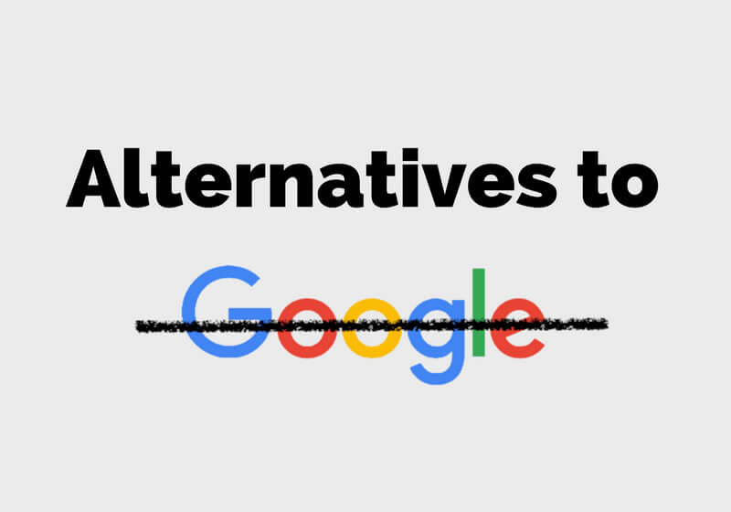The complete list of alternatives to all Google products