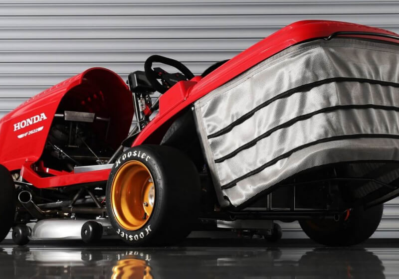 Honda looks to break world record with 150mph lawn mower ...
