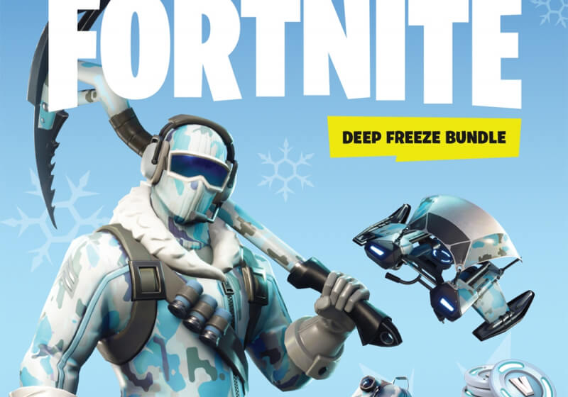 Fortnite: Deep Freeze Bundle with exclusive in-game ...