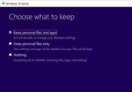 Reinstall Windows 10 Without Deleting Your Software, Files or Settings