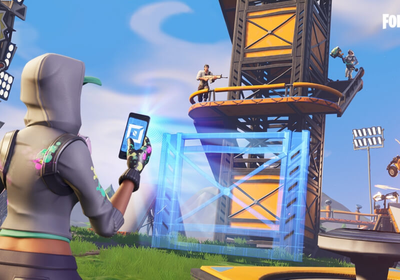 Players made a unique sci-fi game using Fortnite's Creative Mode
