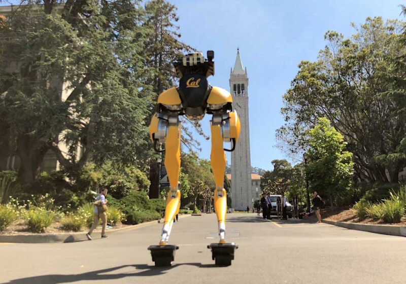 UC Berkeley is Teaching Robots to Ride Hovershoes