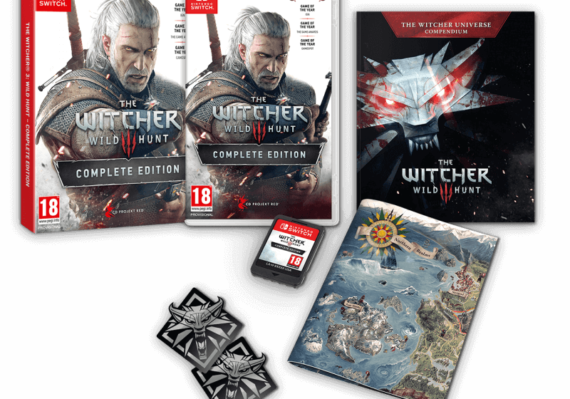 The Witcher 3: Wild Hunt is getting a Nintendo Switch port this year