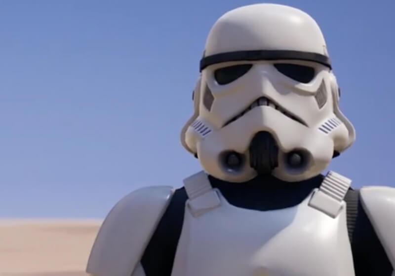 Star Wars Crossover Adds Imperial Stormtrooper To Fortnite