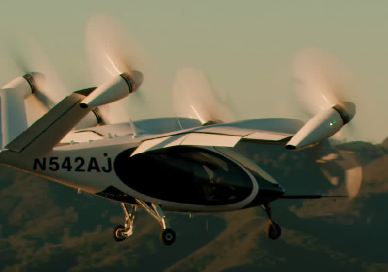 Joby reveals first in-flight footage of its electric VTOL craft