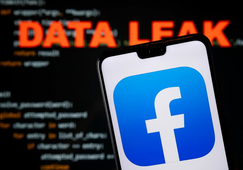 Facebook said it isn't notifying users if they were affected by the leak of 533 million records