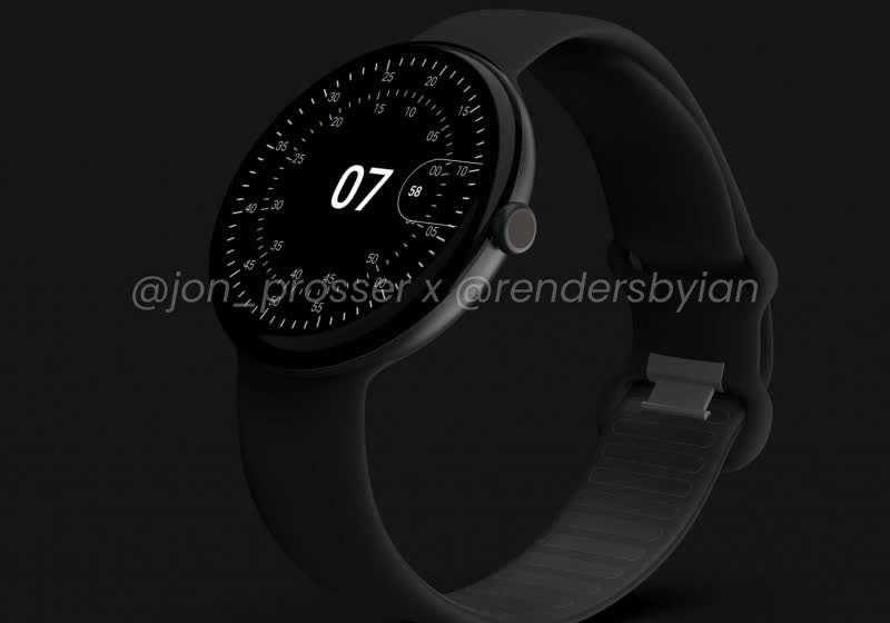 Google Pixel Watch leak gives us a first look at the anticipated smartwatch