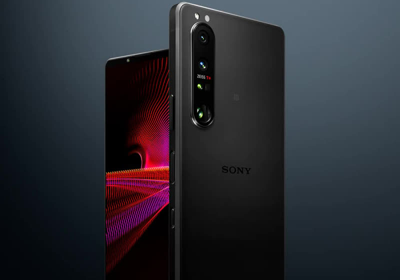 Sony's new Xperia 1 III flagship is the first phone to come with a 4K 120Hz OLED display