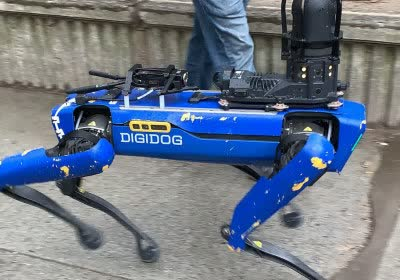nypd digidog boston dynamics robotics robots law enforcement spot killer robots