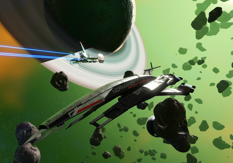 Hello Games surprises No Man's Sky players with a Mass Effect crossover