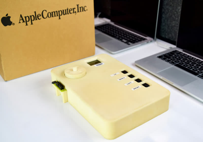 Apple designed this prototype of the first iPod to keep the form factor from leaking - TechSpot