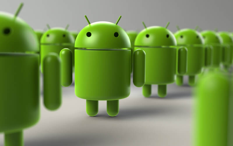 Before becoming Google's smartphone OS, Android was being developed for what kind of device?